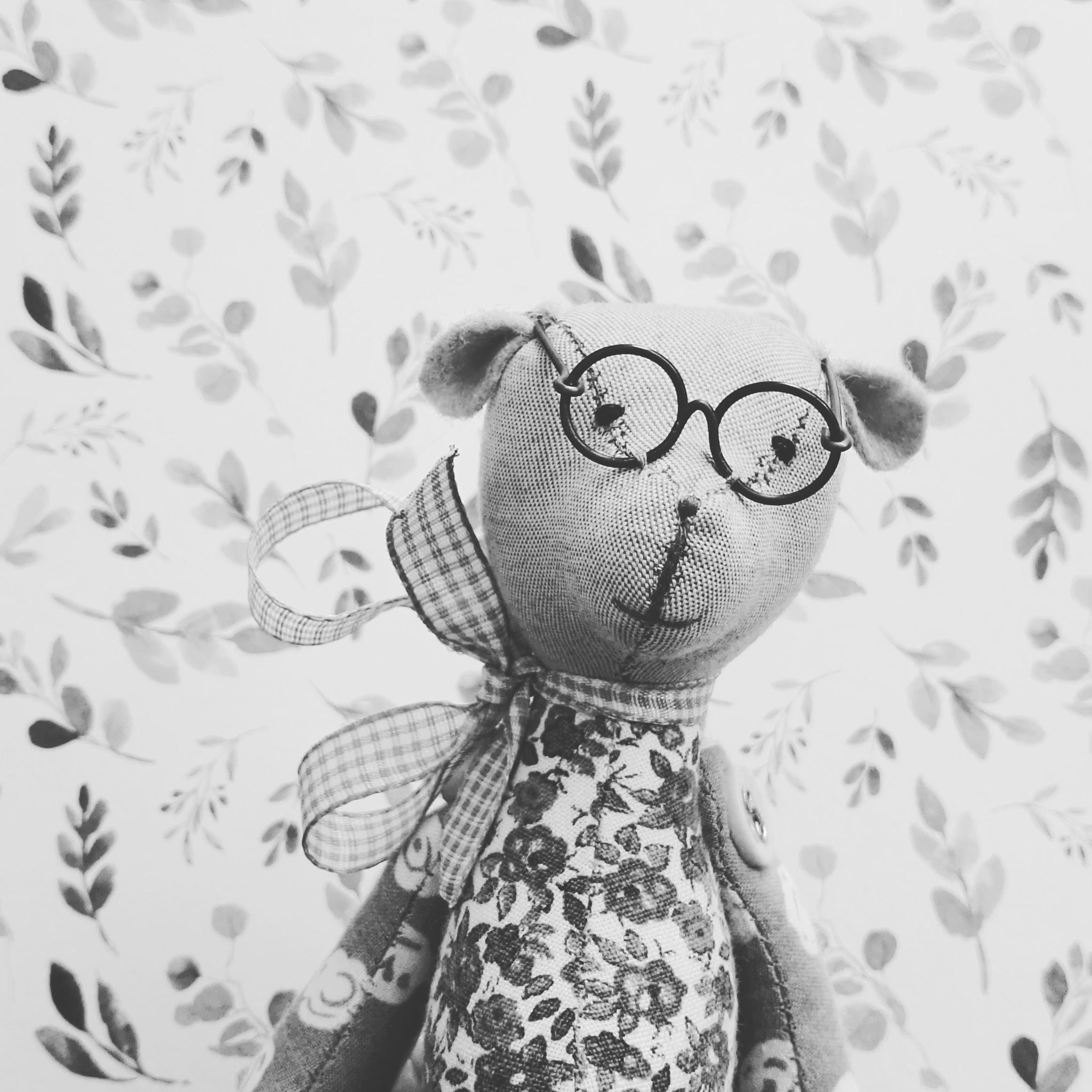 Miś w okularach