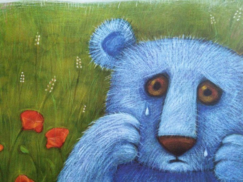 Niebieska niedźwiedzica